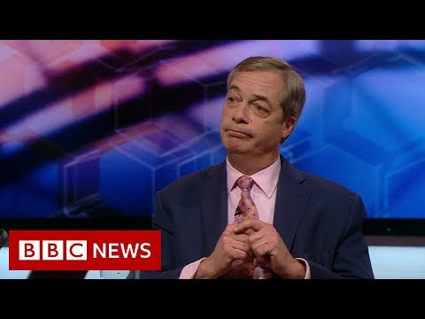 BBC News:Nigel Farage reaction as Conservatives set for majority - BBC News