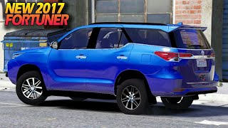 Review All New Fortuner trd 2017 GTA 5 Mod Mobil Indonesia