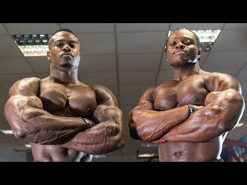 (Beastmode) @SimeonPanda & @armz_korleone Dumbbell Chest Workout