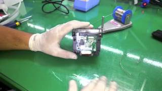 getlinkyoutube.com-Como Retirar a Cabeça de Impressão e Jumper na HP 7610 e 7612 A3 - SULINK