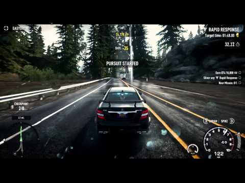 Need For Speed: Rivals. Part 03. Cop. Chapter 2 - Gloves Come Off. XBOX 360