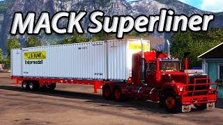 getlinkyoutube.com-Euro Truck Simulator 2 - MACK Superliner (Ücretli) - American Truck Sim Hazırlık