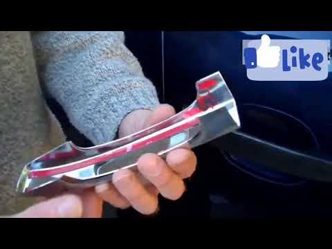 Как установить хром накладки на ручки авто самостоятельно? Установка хром накладок на ручки