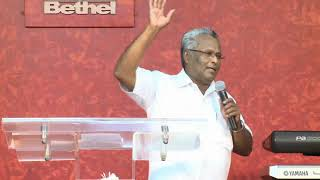 getlinkyoutube.com-If God is for us, who can be against us - Message by Rev Dr M A Varughese @ Bethel AG Church