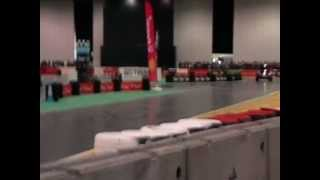 Rupert Grint\'s WarmUp Laps at Top Gear Live 2011 Pt 1