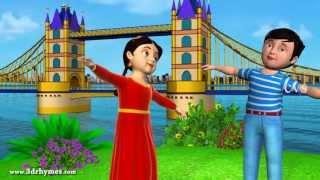 getlinkyoutube.com-London bridge is falling down - 3D Animation English Nursery rhyme for children