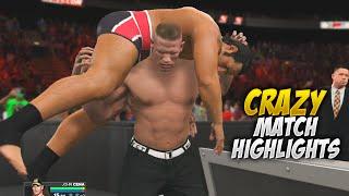 getlinkyoutube.com-WWE 2K15 - Extreme Rules 2015 John Cena Vs Rusev United States Championship CRAZY MATCH HIGHLIGHTS!