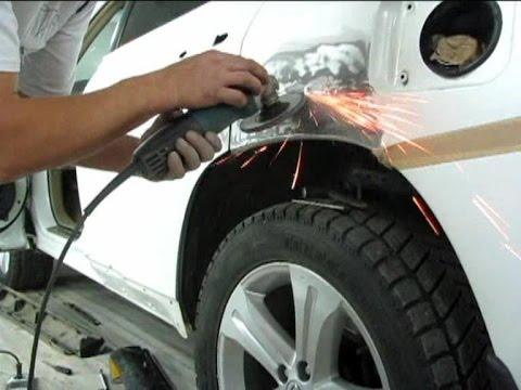 Toyota Highlander трехслойный перламутр счес бочины рихтовка покраска