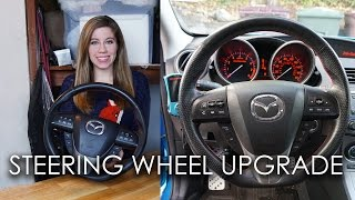HOW TO INSTALL AFTERMARKET STEERING WHEEL!