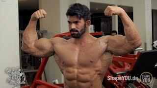 getlinkyoutube.com-Sergi Constance and Alon Gabbay - Triceps/Biceps Workout #BeLEGEND