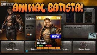 getlinkyoutube.com-Animal Batista! WWE Immortals 1.6 Gameplay! IOS/Android