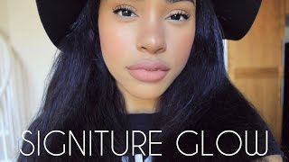 getlinkyoutube.com-How to : My Signature Glowy Makeup with Neutral Lips