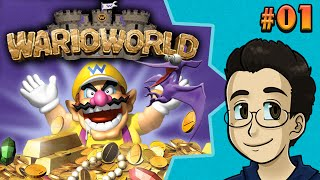 TOSSING PTERODACTYLS | Wario World, Part 1 - BGPR!