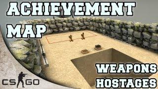 getlinkyoutube.com-CS:GO Achievement Map ▪ Hostages and Weapons ▪