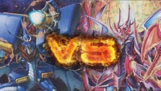 getlinkyoutube.com-Cardfight!! Vanguard: Gear Chronicle ( Chronodragon Nextage ) vs Kagero ( The Ace )