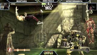 getlinkyoutube.com-SVB 20XI Mortal Kombat Semi Finals Mustard vs Afoxygrandpa