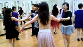 getlinkyoutube.com-恰恰 基本舞步 練習 中原 大學 推廣 蔡輝煌 2013  11  9