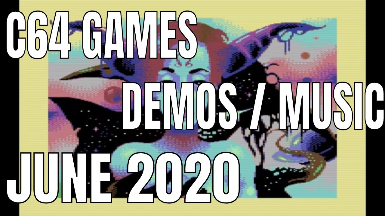 C64 NEW Games June 2020