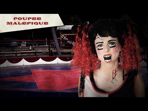 Tuto Maquillage Halloween Femme : Poupée maléfique
