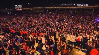 getlinkyoutube.com-K POP Super Junior   Miracle + Talk + Sorry Sorry MB in Chile 20121117