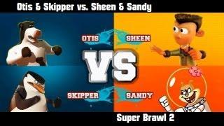 getlinkyoutube.com-Super Brawl 2 - Otis & Skipper vs. Sheen & Sandy