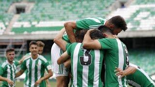 Resumen del partido Betis B-Lorca Deportiva (2-0)