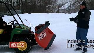 getlinkyoutube.com-Benefits of Owning a BOSS UTV Snow Plow