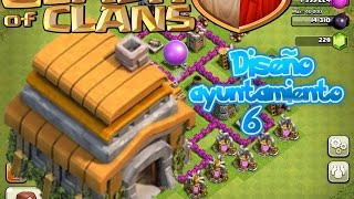 getlinkyoutube.com-Diseño aldea ayuntamiento 6 | Clash of Clans|