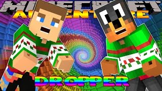 getlinkyoutube.com-Minecraft - Donut the Dog Adventures - THE DROPPER COMPETITION AGAINST LITTLE DONNY!!!!