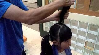 getlinkyoutube.com-パパでもできる! 簡単・可愛いヘアアレンジスタイル!