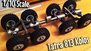 getlinkyoutube.com-[RC] How It's Made - Tatra 813 KOLOS 8x8 1:10 Scale