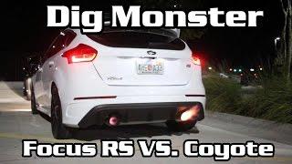 Focus RS vs Tuned 5.0