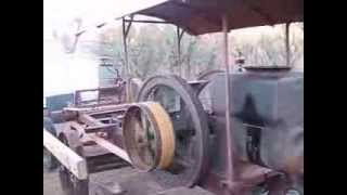 "getlinkyoutube.com-1916 Galloway Engine runs 28"" Buzz Saw"