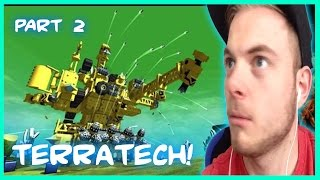 getlinkyoutube.com-Squiddy Plays TerraTech!   DESIGN, CONSTRUCT, BATTLE! PART1 iBallistic Squid part 2