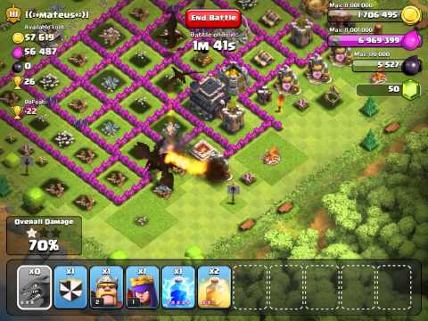 Clash of Clans  11 DRAGON 3 starring