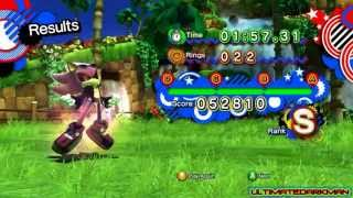 getlinkyoutube.com-Sonic Generations - Scourge The Hedgehog - Release