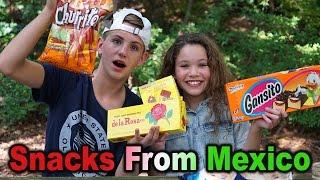 getlinkyoutube.com-Trying Snacks from Mexico! (MattyBRaps & Sierra Haschak)