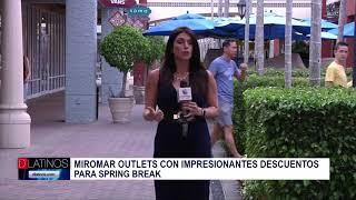 Gaby Romero desde el Miromar Outlets para hablar de grandes descuentos