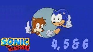 Adventures of Sonic The Hedgehog - Episode #4, #5 and #6
