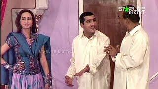 Best of Zafri Khan New Pakistani Stage Drama Full Comedy Funny Clip