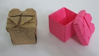 getlinkyoutube.com-TUTORIAL - How to make an Origami Heart Box