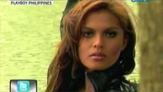 24 Oras: Juliana Palermo, daring sa cover ng Playboy Philippines Magazine