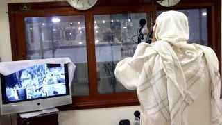 getlinkyoutube.com-أول أذان للشيخ علي ملا بالمكبرية الجديدة المؤقتة بالمسجد الحرام