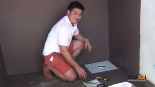 getlinkyoutube.com-ป้องกันการรั่วซึม แผ่นกันซึม  Waterproofing Wetroom