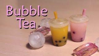 getlinkyoutube.com-Easy Polymer Clay Tutorial; Bubble / Boba Tea Charm