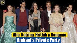getlinkyoutube.com-Ambani's Private Party for Celebs   Katrina Kaif, Hrithik Roshan, Siddharth Malhotra