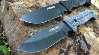 getlinkyoutube.com-NEW Schrade SCHF51 and SCHF51M: Brand New Survival Knife Based on the Award-Winning SCHF36
