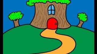 getlinkyoutube.com-Build a Tree House: Drawing Ideas for Kids