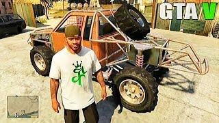 getlinkyoutube.com-Grand Theft Auto V - Customized Off Road Truck and Off Road Race [GTAV]