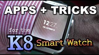 getlinkyoutube.com-K8 SmartWatch: Apps, Tricks and a new UI  *NO ROOT*